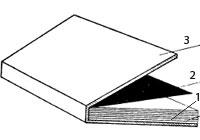 Переплетная крышка из одной детали